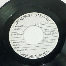"""Lisa SALZER """"la musique douce"""" Presque comme neuf 1981 WL Test 7"""" VINYL 45 SINGLE Schlager"""