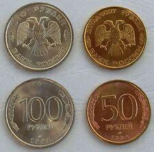 Russland / Russia 50 + 100 Rubel 1993 unz.