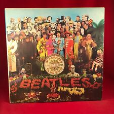 Los Beatles Sgt. Pepper's Lonely Hearts Club Band 1980 Italiano Vinilo Lp + Insert