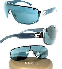 Gucci SONNENBRILLE GG 1582 BLAU SCHWARZ ORIGINAL HERREN LUXUS BRILLE DAMEN ETUI