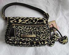 Juicy Couture Bag Velour Leopard Satchel NEW $228