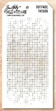 Tim Holtz Layering Stencil Template - Dots Fade