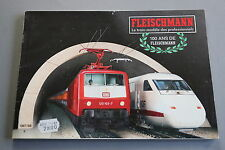 X065 FLEISCHMANN Train catalogue Ho N 1987 88 188 pages 29,7*21 cm prix 1987 F