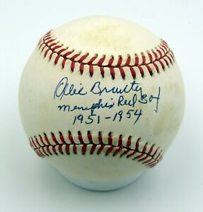 Ollie Brantly - Autographed Ball - Memphis Red Sox - Negro Leagues - 1951-54