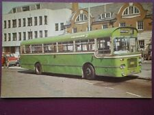 POSTCARD 1969 BRISTOL RELL 6G BUS FOR SOUTHDOWN BUS NO 433