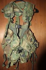 US MILITARY Issue GI TACTICAL LOAD BEARING VEST ENHANCED LBV Woodland B Grade
