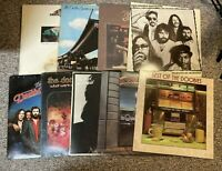 Lot of (9) DOOBIE BROTHERS LP records: Greatest Hits 1&2; Minute; Takin + 5 - VG