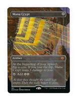 MANA CRYPT Double Masters Borderless Showcase MTG Magic the Gathering Foil Card