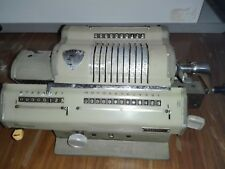 ESACTA CALCOLATRICE  A CURSORI MADE IN ITALY NEL 1949 NO OLIVETTI OLD CALCULATOR