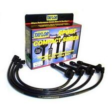 Taylor Spark Plug Wire Set 98071; ThunderVolt 50 10.4mm Black for Honda 4cyl