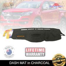DASH MAT HOLDEN COLORADO RG MY17 LS-LT-LTZ-Z71 8/2016-19 NO-HUD DM1443 CHARCOAL