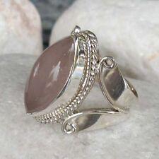 Ringe mit Edelsteinen für Damen (18,1 mm Ø) Unbehandelte echten Innenvolumen