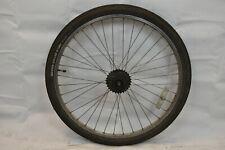 """Shimano 26"""" Rear Road Bike Wheel Joytech Hub Silver OLW135 20mm 36S AV Charity!!"""
