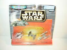 Vtg 1996 Micro Machines XII Star Wars A-Wing, Tie & Y-Wing Starfighters 65860