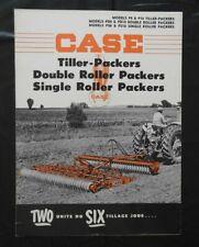 """1955 J I Étui """" Modèle P8 P10 PD8 PD10 PS8 PS10 Bille Packers """" Catalogue"""