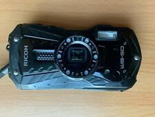 Ricoh WG-50 Digital Waterproof Rugged 16MP Camera CMOS 5X Zoom Shock - Black