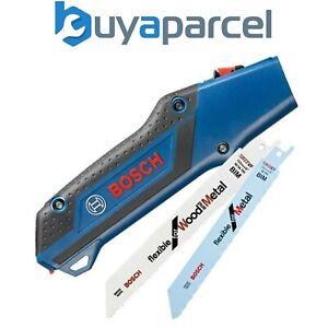 Bosch 2608000495 Reciprocating Pocket Saw Handle 150mm + 2x S922EF S922VF Blades