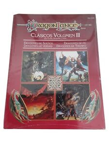 Dungeons dragons español Clasicos Dragonlance III Precintado