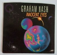 45 RPM Record GRAHAM NASH - INNOCENT EYES / I GOT A ROCK Picture Sleeve Single