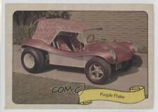 1974 Fleer Kustom Cars Stickers #PUFL Purple Flake Non-Sports Card 1j8