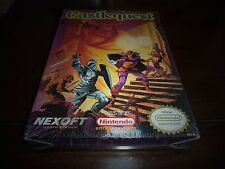CASTLEQUEST FOR NINTENDO NES BRAND NEW AND FACTORY SEALED WITH H-SEAM!!