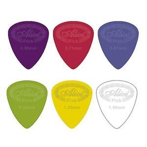 Nylon Guitar Pick / Plectrum - Dunlop Alternative - Choose size and quantity
