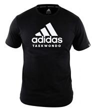"adidas Community line T-Shirt Taekwondo ""Performance"" black/White, Gr. S - L,"