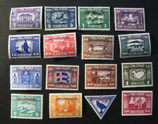 Iceland #  Althingi 1930 set .MH.Overprinted Þjónusta High value set.