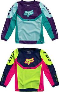 Fox Racing Kids Girls 180 Voke Jersey - MX Motocross Dirt Bike Off-Road MTB ATV
