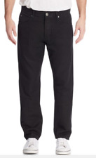 James Perse Five Pocket Linen Blend Straight-Leg Jeans Black 30 NWT $225