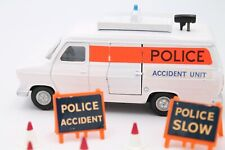 DINKY TOYS 272  * FORD TRANSIT * POLICE ACCIDENT UNIT  * OVP * 1:43 * BUBBLE BOX