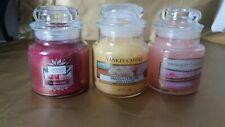 3 x Yankee candles 104g