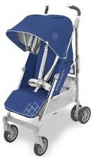 Maclaren Techno XT Baby Full Size Umbrella Fold Single Stroller Blue Silver 2018