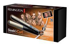 Piastre per Capelli Remington S6500 Arricciacapelli a calore Nero Piastra P