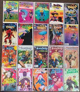 20 Black Canary #1,2,3,4,#1,2,3,9,10,11,12,2,3,4, #1 Wedding #1,2,3,4 AB lot Nm