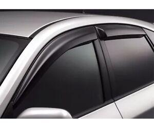 Genuine OEM Subaru 2015+ WRX STI Rain Guard Visor Side Window Deflector NEW