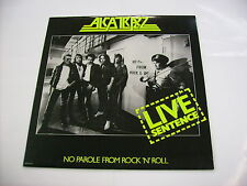 ALCATRAZZ - LIVE SENTENCE - LP VINYL 1984 - U.S.A. PRESS - MALMSTEEN