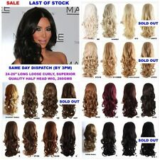 Weft Synthetic Long Hair Extensions