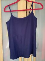 M&S Navy Cami Top Marks & Spencer Strappy Top Size 16 Brand New