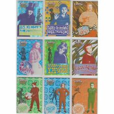 CHARLIE & THE CHOCOLATE FACTORY 9 CARD  FOIL CHASE SET R1 TO R9