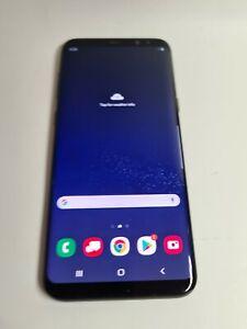 Samsung Galaxy S8+ SM-G955U, 64GB, Blue, Unlock, Shadow, Fair, Z499
