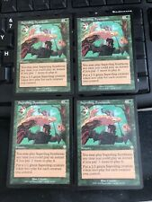 SAPROLING SYMBIOSIS X4 Invasion RARE; played, Excellent cond See Pics Front/Back