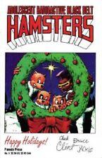 Adolescent Radioactive Black Belt Hamsters 5 Holiday Don Chin TMNT Parody HTF NM