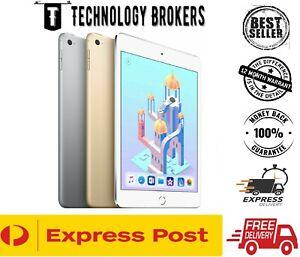 Apple iPad Mini 4 16/32/64/128GB Grey Silver Gold Wi-Fi Only / Wi-Fi + 4G AU STK