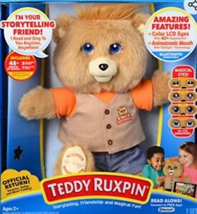 NEW! 2017 Teddy Ruxpin - Official Return of the Storytime and Magical Bear