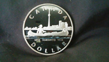 Proof Silver Dollar - 1984 - Toronto - Coin Only
