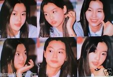 "JEON JI HYUN ""6 CANDID SHOTS"" POSTER FROM ASIA- My Sassy Girl,Il Mare,Windstruck"