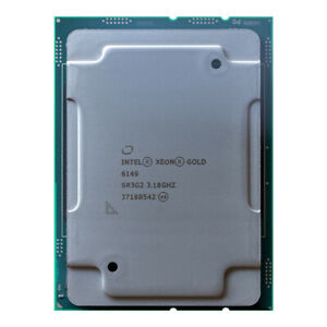 Intel Xeon Gold 6149 OEM CPU LGA-3647 3.1GHz 16-Core 205W SR3G2 cf. 6154 6246R