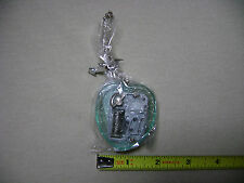 Heart Shaped Wind Up Music Box Keychain you pick color (NEW) Hand Crank Key Fob
