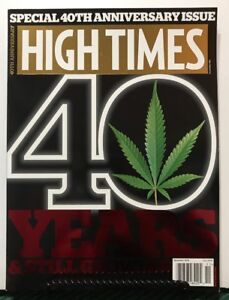 High Times 40th Anniversary 40 Years Still Growing Nov 2014 FREE SHIPPING JB